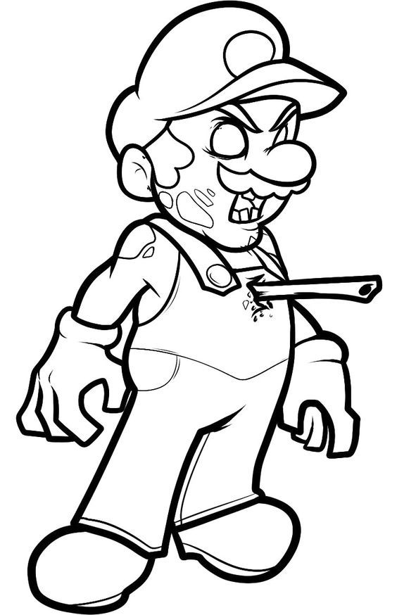 zombie coloring page free printable plants vs zombies coloring pages at coloring page zombie