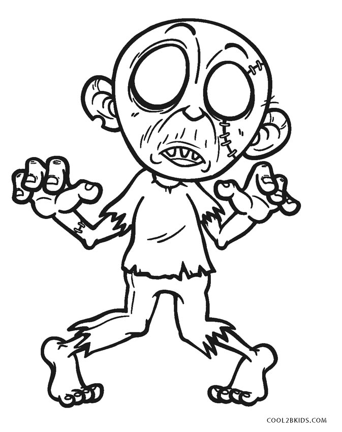 zombie coloring page plants vs zombies coloring pages to download and print for page coloring zombie