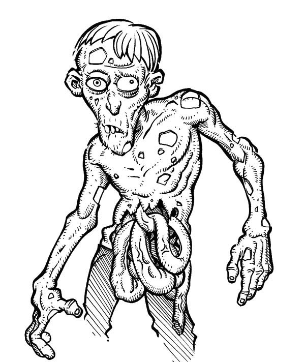 zombie coloring page plants vs zombies dr zomboss free colouring pages zombie page coloring