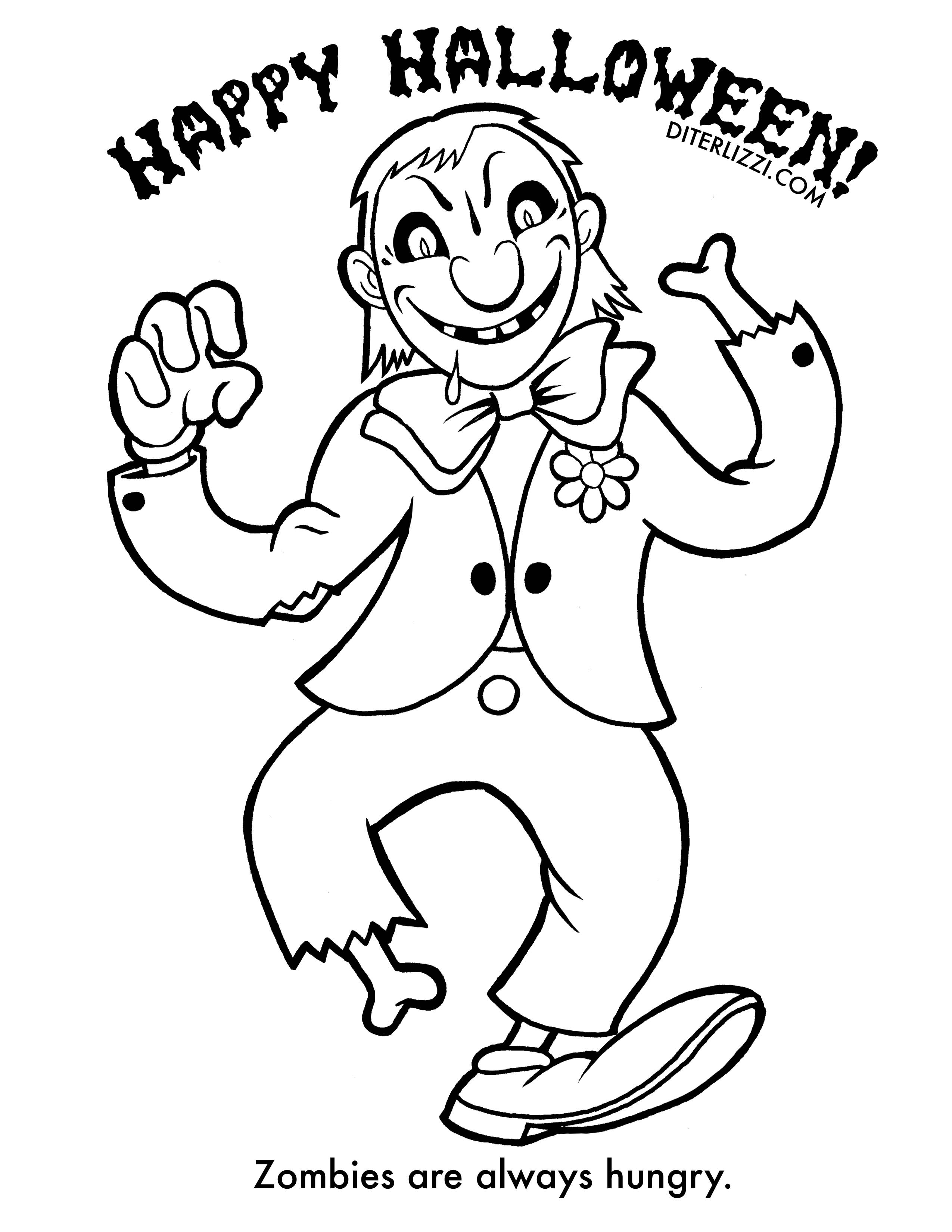 zombie coloring page zombie cartoon coloring pages printable page zombie coloring