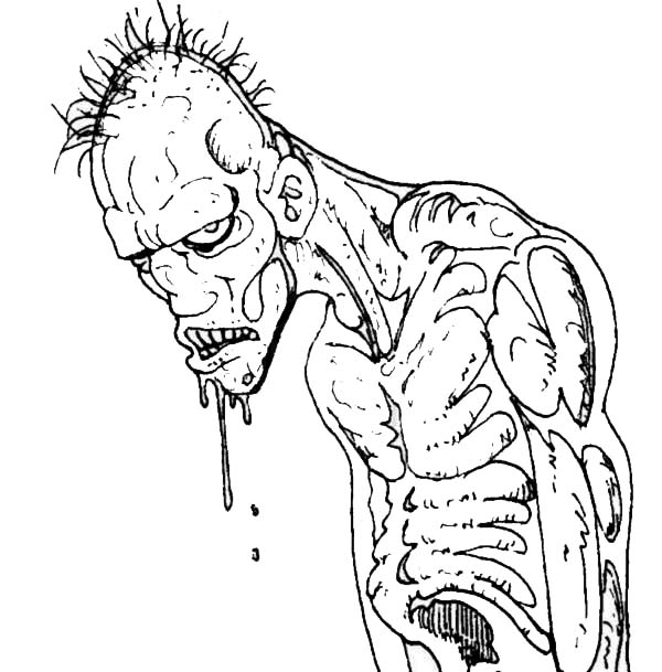 zombie coloring page zombie coloring pages at getdrawings free download zombie page coloring