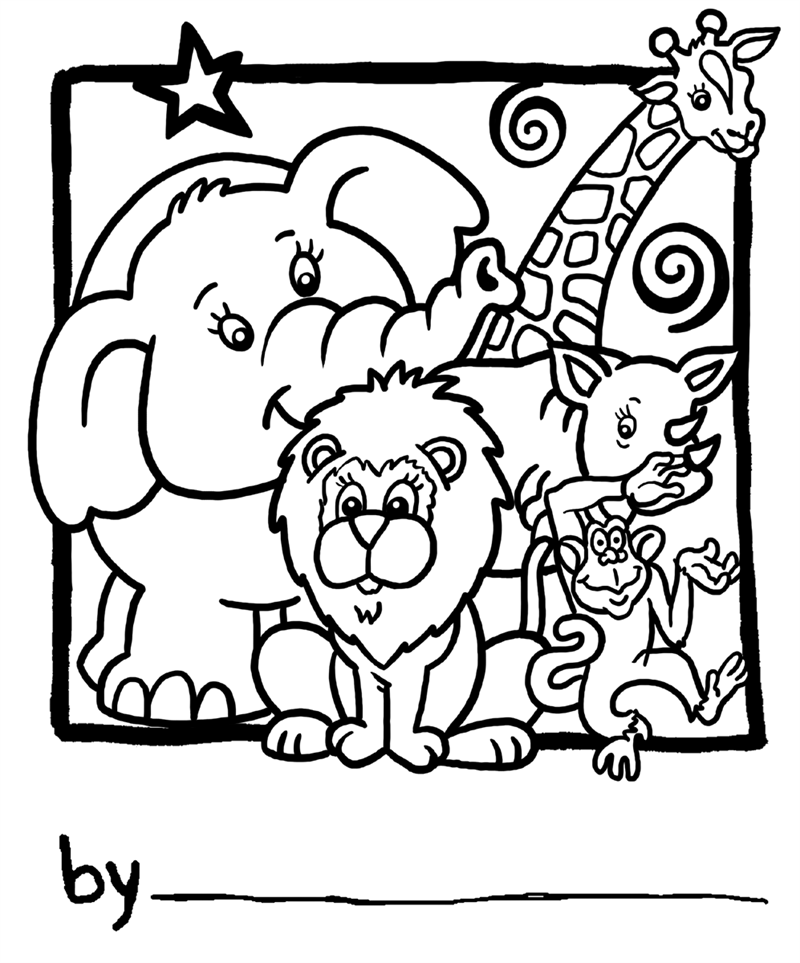 zoo coloring picture zoo animal coloring pages for toddlers at getdrawings picture zoo coloring