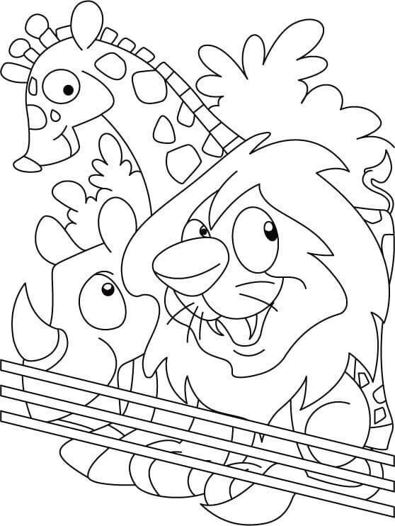 zoo coloring picture zoo animals coloring pages best coloring pages for kids zoo picture coloring