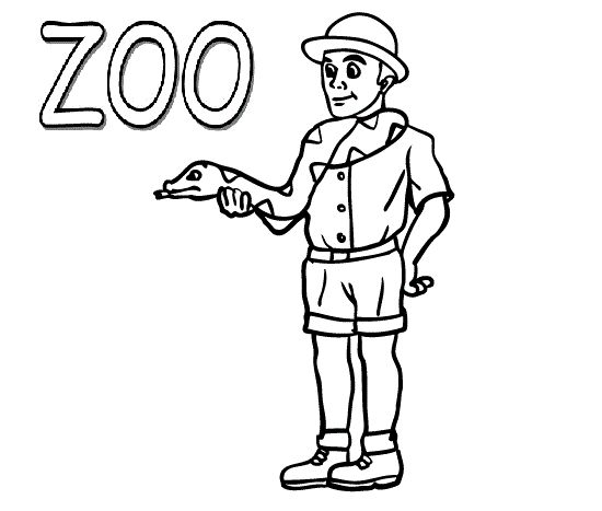 zoo keeper hat coloring page coloring a picture of zookeeper coloring pages zoo hat page keeper coloring