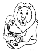zoo keeper hat coloring page coloring book of funny zoo keeper with parrot coloring coloring hat page keeper zoo