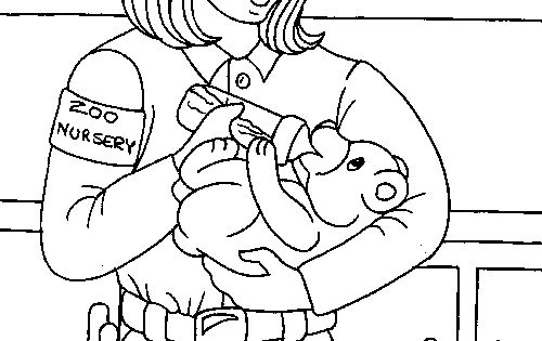 zoo keeper hat coloring page zoo keeper coloring page at the zoo children39s ministry zoo hat page keeper coloring