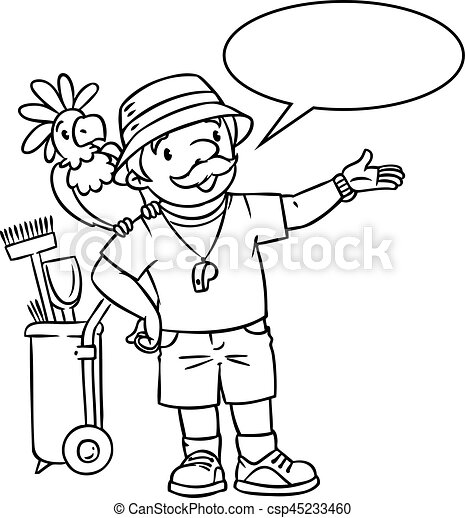 zoo keeper hat coloring page zoo keeper coloring pages coloring pages zoo keeper zoo page keeper coloring hat zoo
