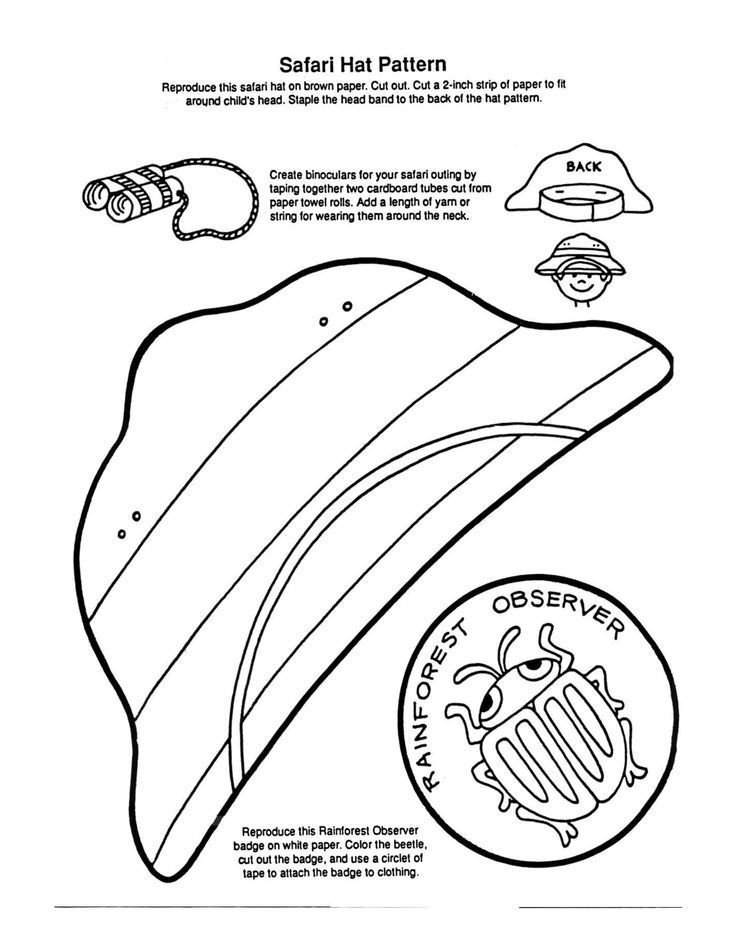 zoo keeper hat coloring page zoo keeper pages coloring pages keeper coloring page hat zoo