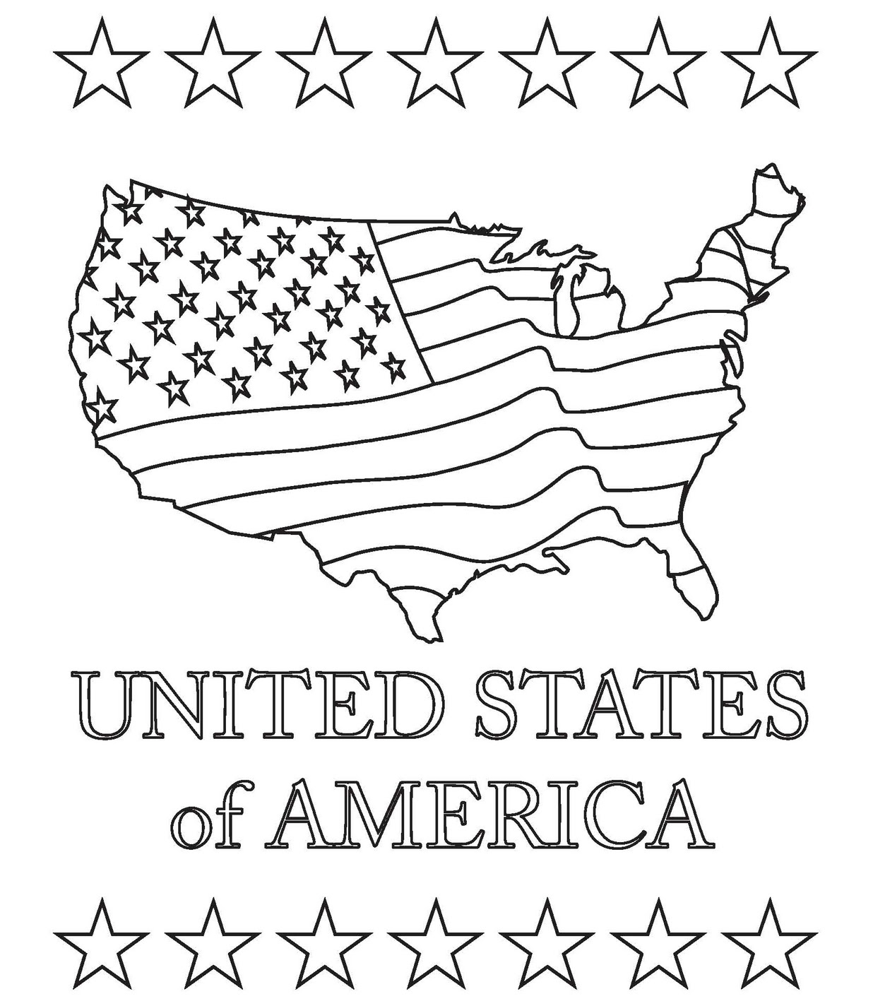 america coloring pages american flag coloring page for the love of the country coloring america pages