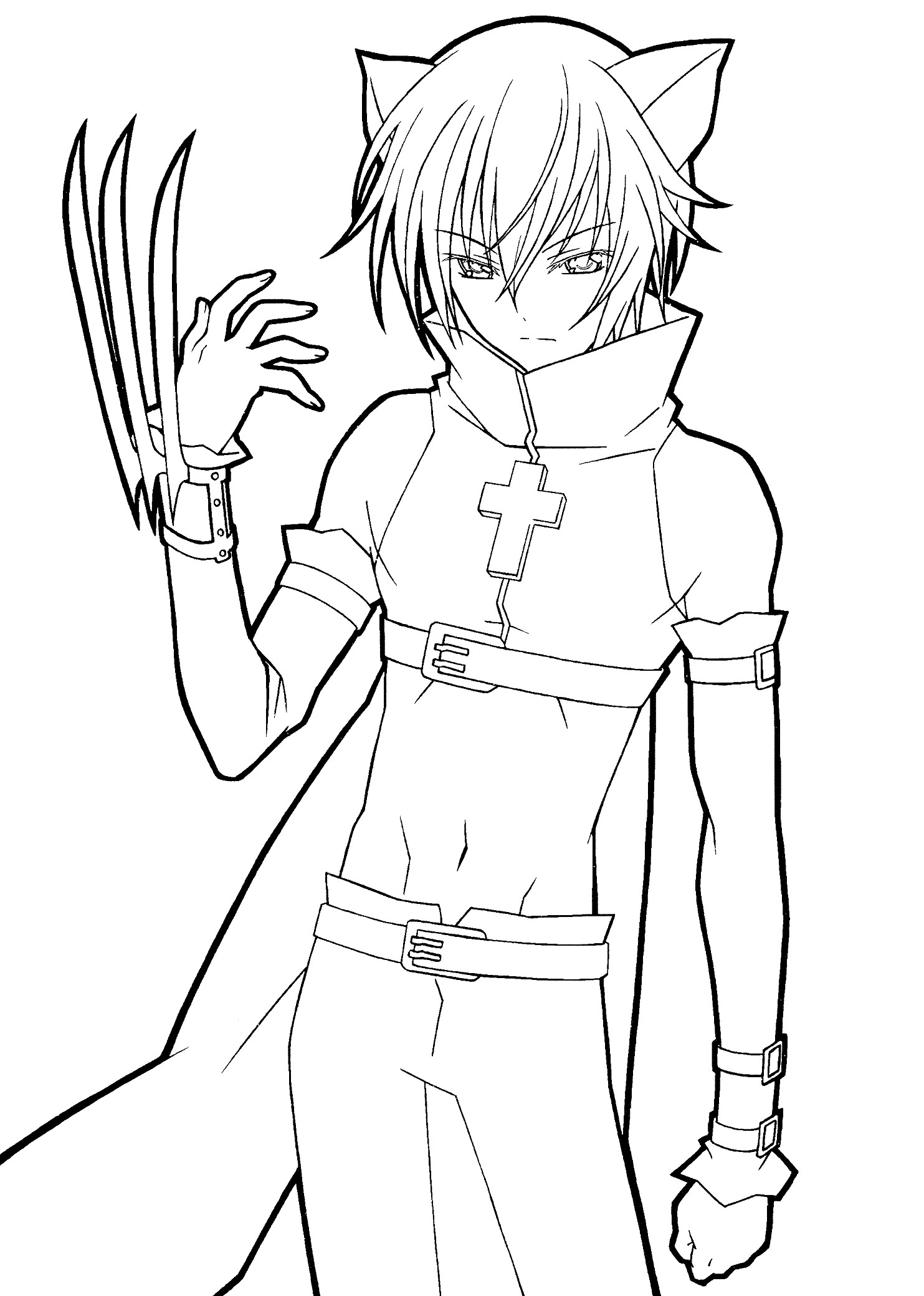 anime colour in anime coloring pages best coloring pages for kids anime colour in 1 1