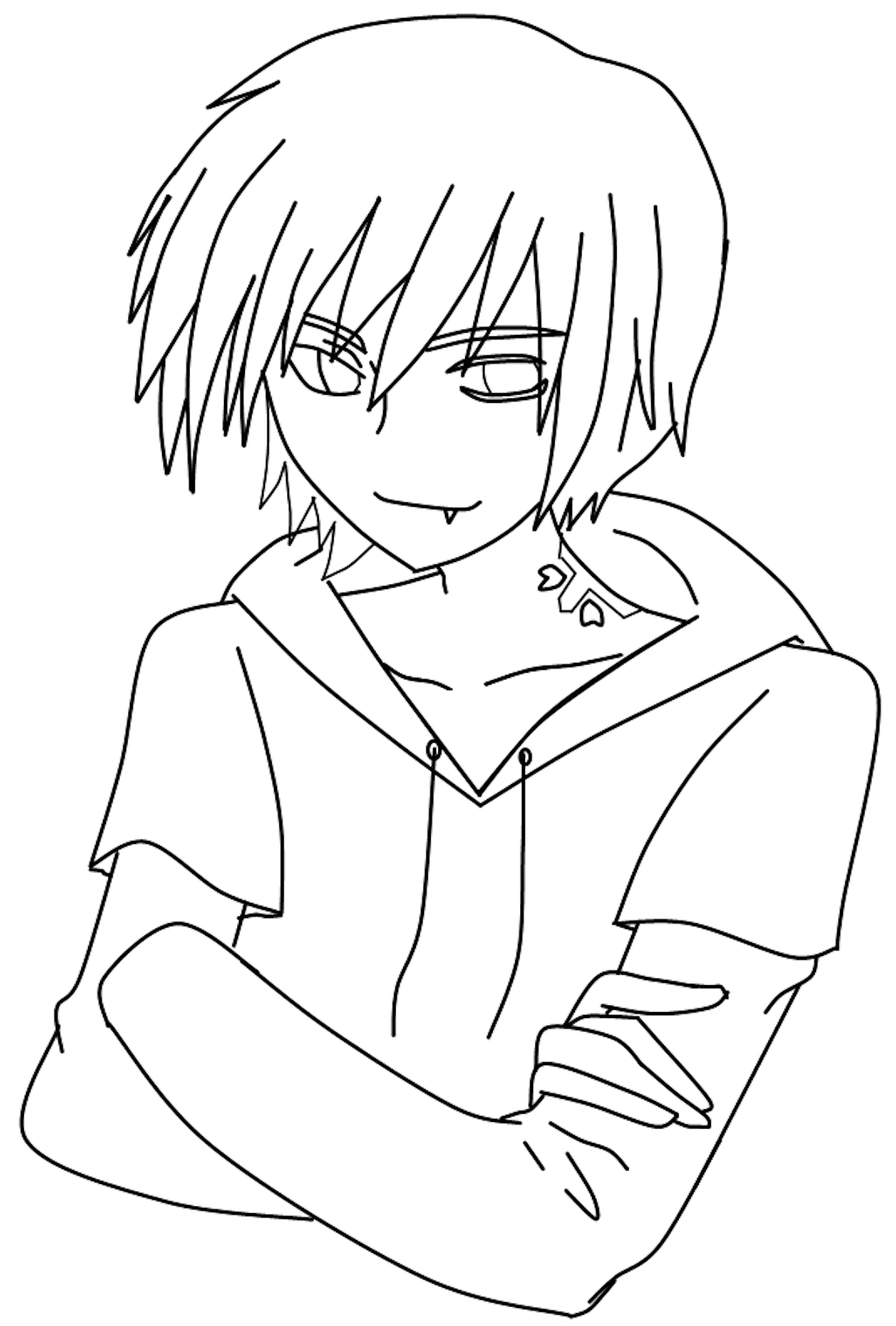 anime colour in anime wolf girl coloring pages coloring pages for children anime in colour