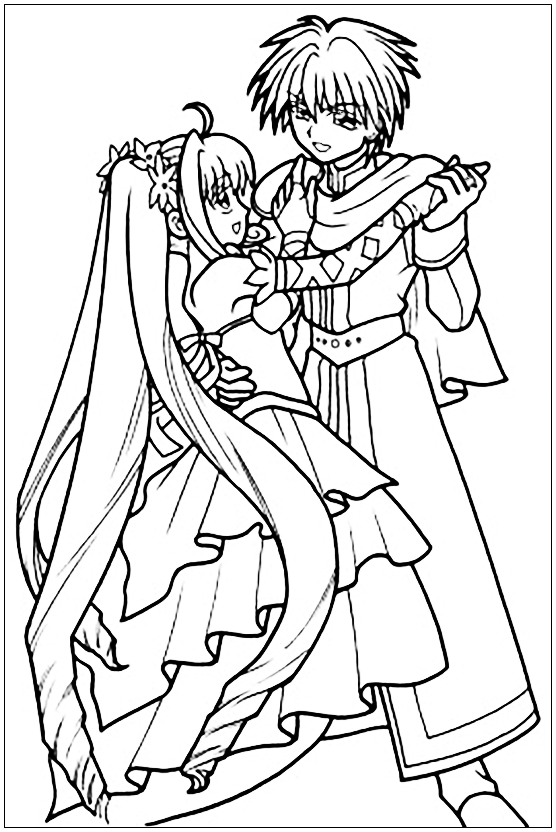 anime colour in manga coloring pages to download and print for free colour in anime