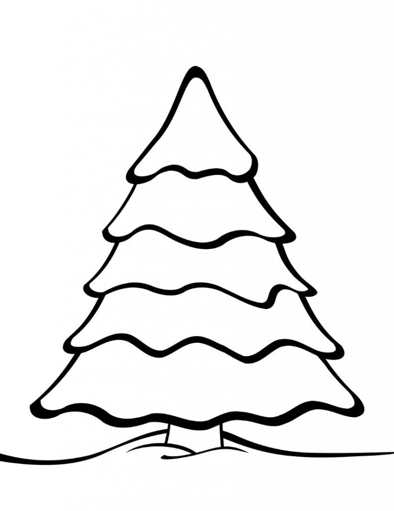 coloring page of a tree free printable tree coloring pages for kids cool2bkids of page tree coloring a