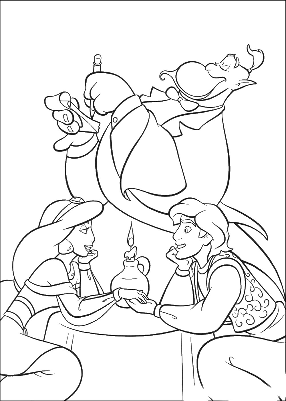 coloring pages aladdin aladdin activities for kids wonder kids aladdin coloring pages