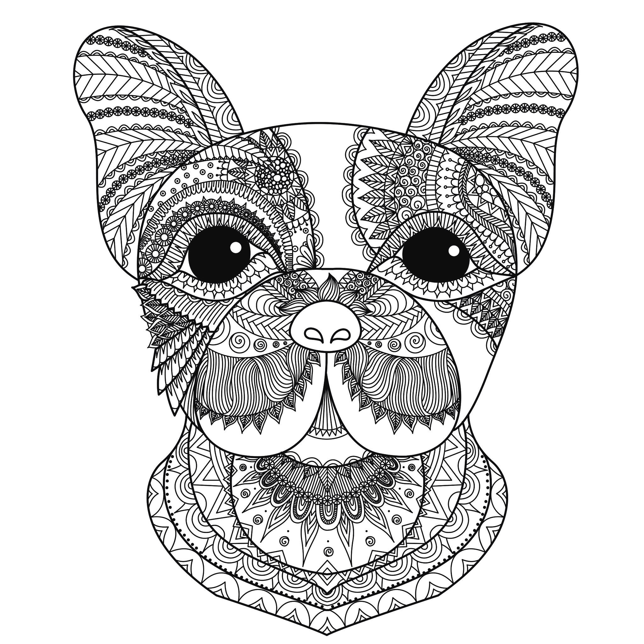 colour in pictures of dogs pug dog coloring pages coloring home pictures dogs colour of in