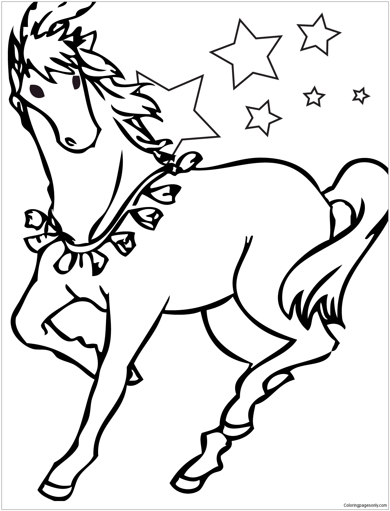 cool horse coloring pages link to many horse coloring pages horse coloring books coloring pages horse cool