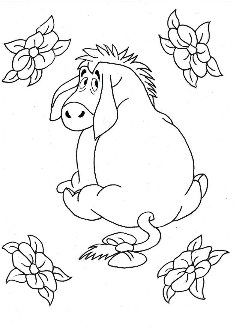eeyore coloring sheets coloring pages eeyore coloring home coloring sheets eeyore