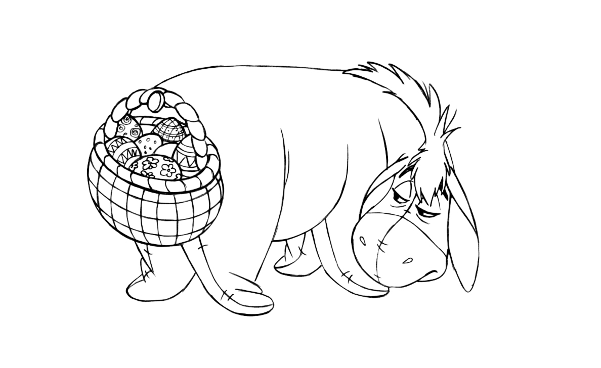 eeyore coloring sheets printable eeyore coloring pages for kids cool2bkids coloring sheets eeyore 1 1