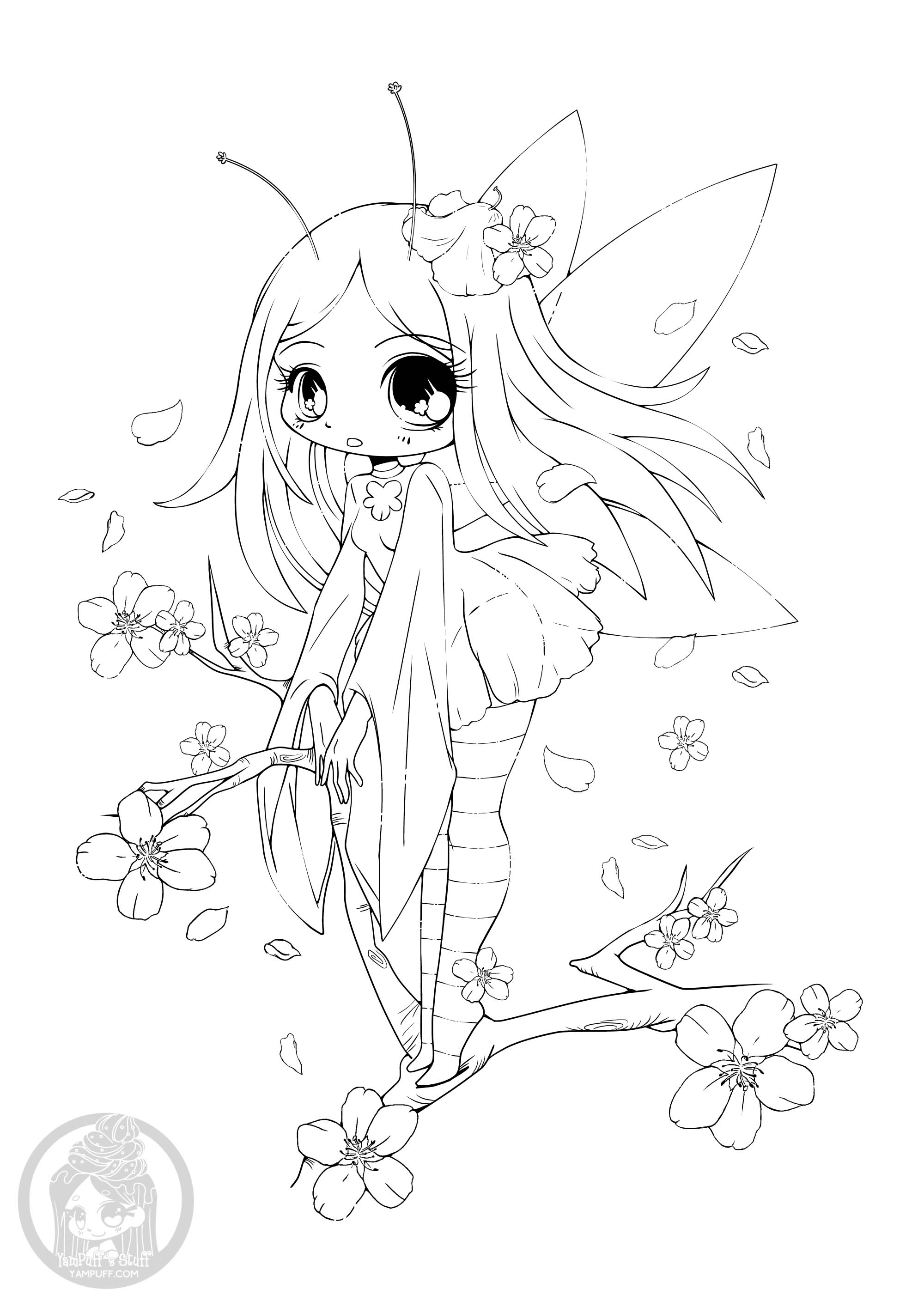 fairies coloring pages cherry blossom fairy return to childhood adult coloring fairies pages coloring