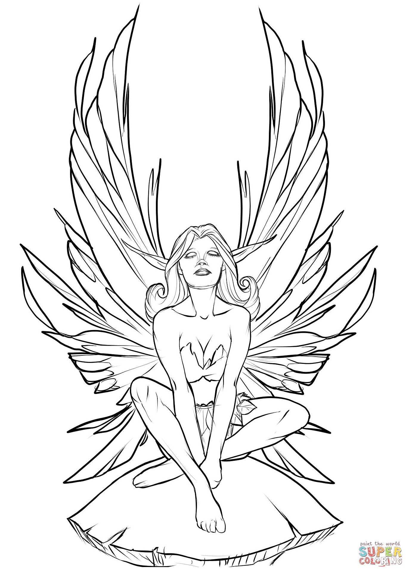 fairies coloring pages fairy coloring pages sketch coloring page fairies coloring pages