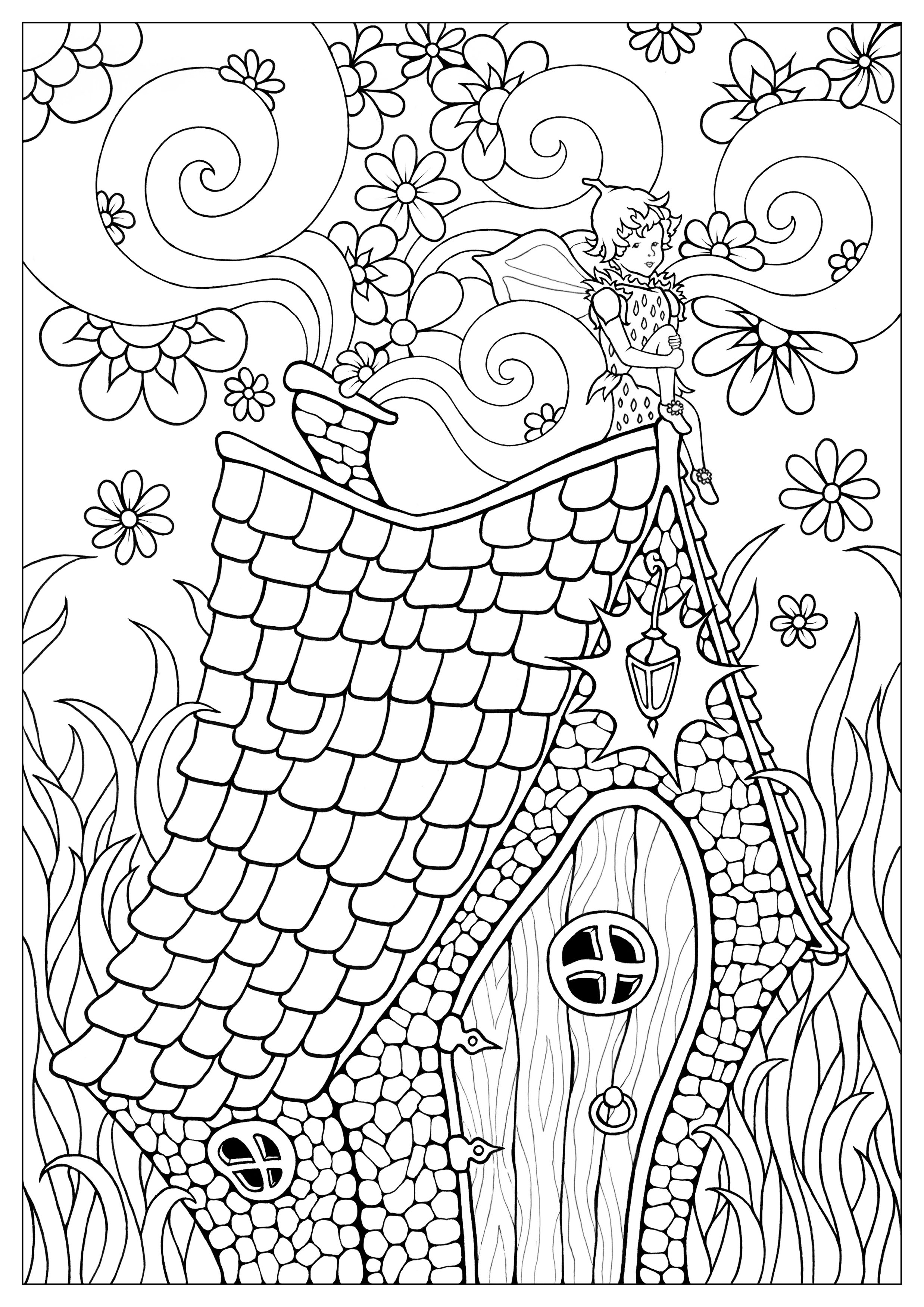 fairies coloring pages fairy free to color for children fairy kids coloring pages fairies pages coloring
