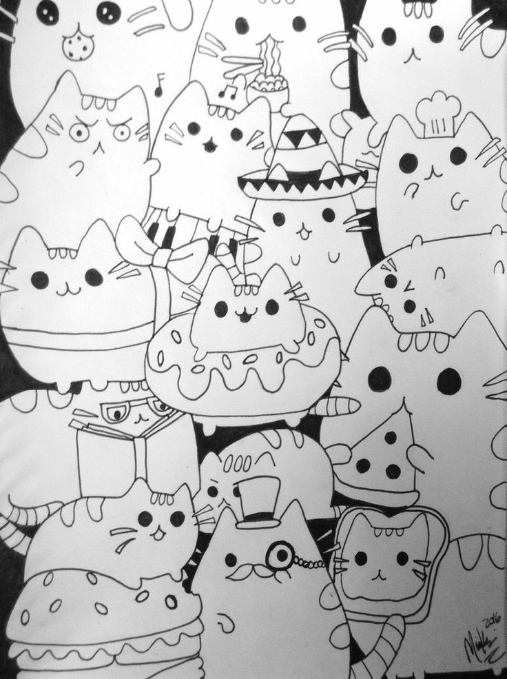 hard cute cat coloring pages cat coloring pages coloringrocks pages hard coloring cat cute