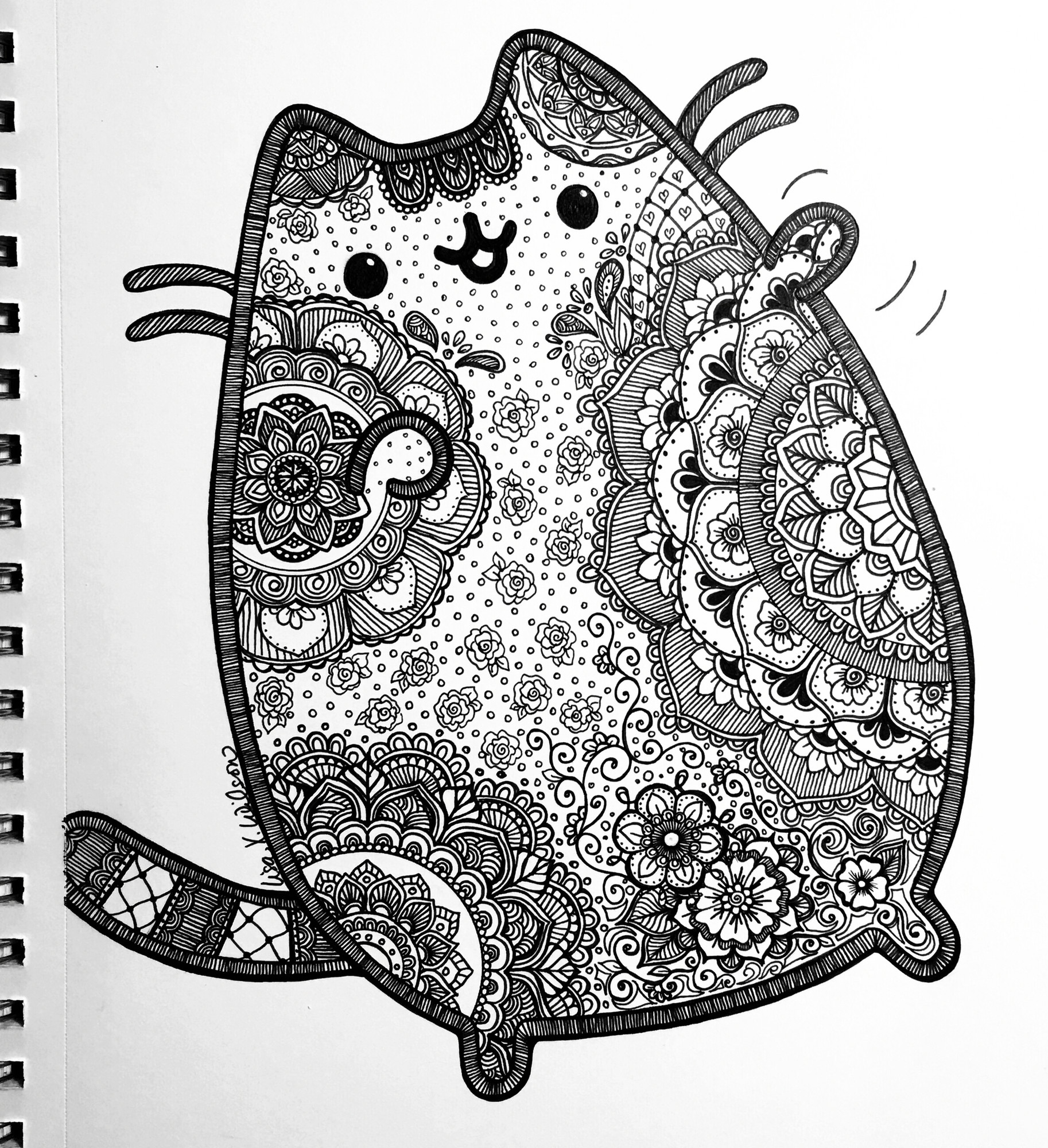 hard cute cat coloring pages collection of cute cat coloring pages stpetefestorg coloring hard cat pages cute