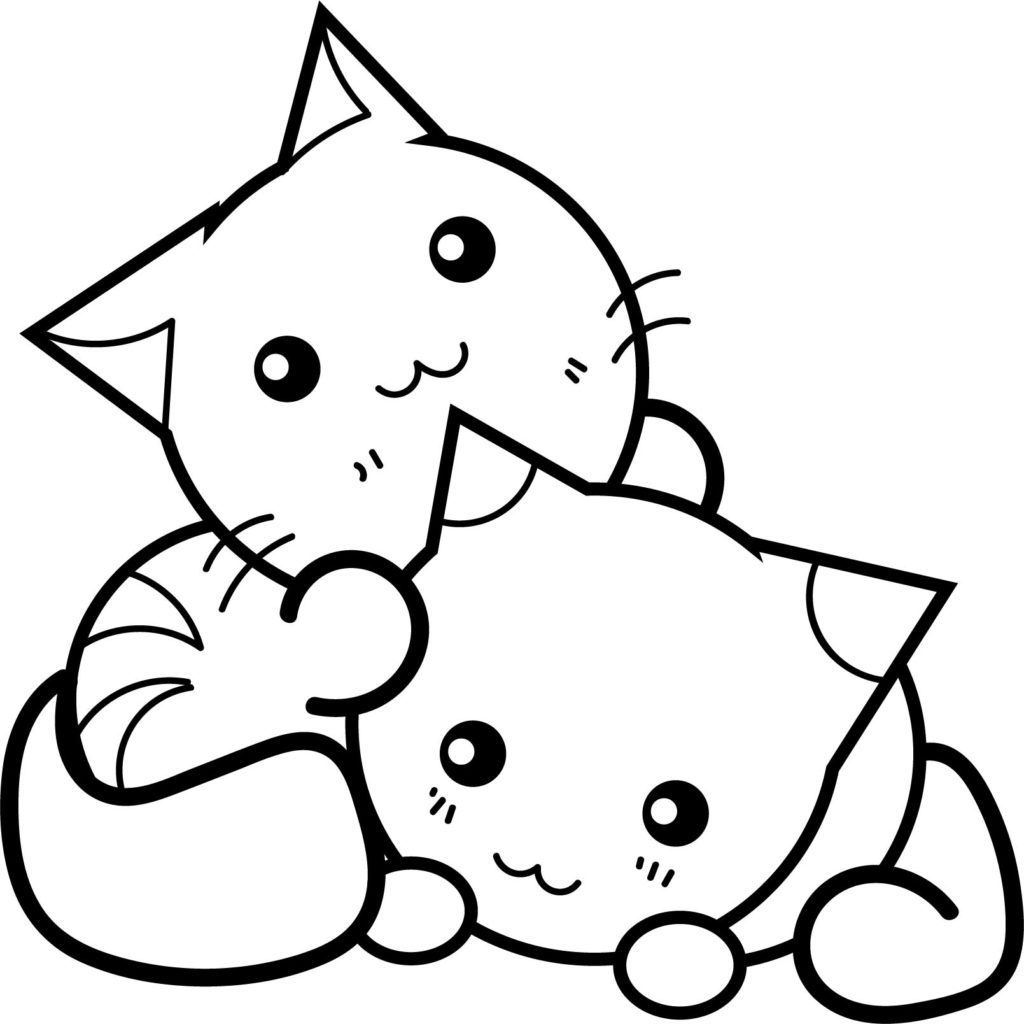 hard cute cat coloring pages get this printable cute baby kitten coloring pages 5sda9 coloring cat cute pages hard