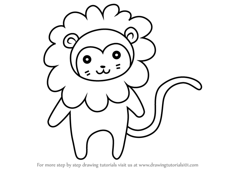 how to draw a golden lion tamarin step by step learn how to draw animals step by step page 98 tamarin golden how a step step lion to by draw