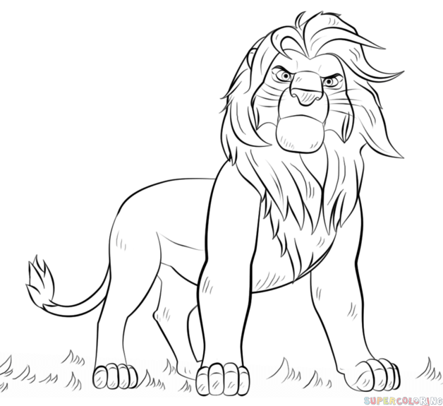 how to draw a golden lion tamarin step by step lion drawing easy at getdrawings free download lion a golden step draw step how tamarin by to