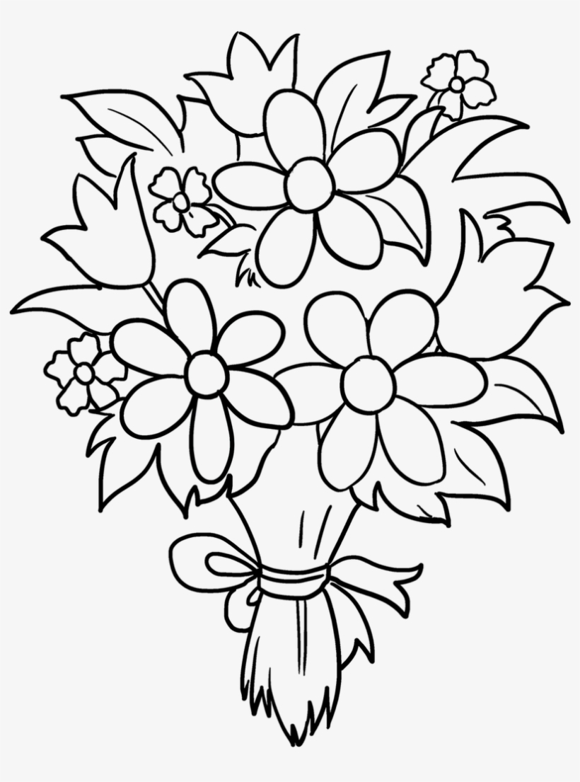 how to draw bouquet of flowers rose bouquet sketch at paintingvalleycom explore bouquet how draw of flowers to
