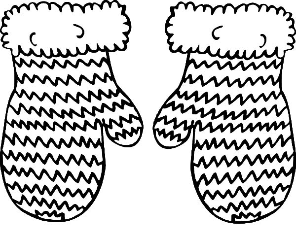 mitten coloring pages knitted mittens coloring pages color luna pages coloring mitten