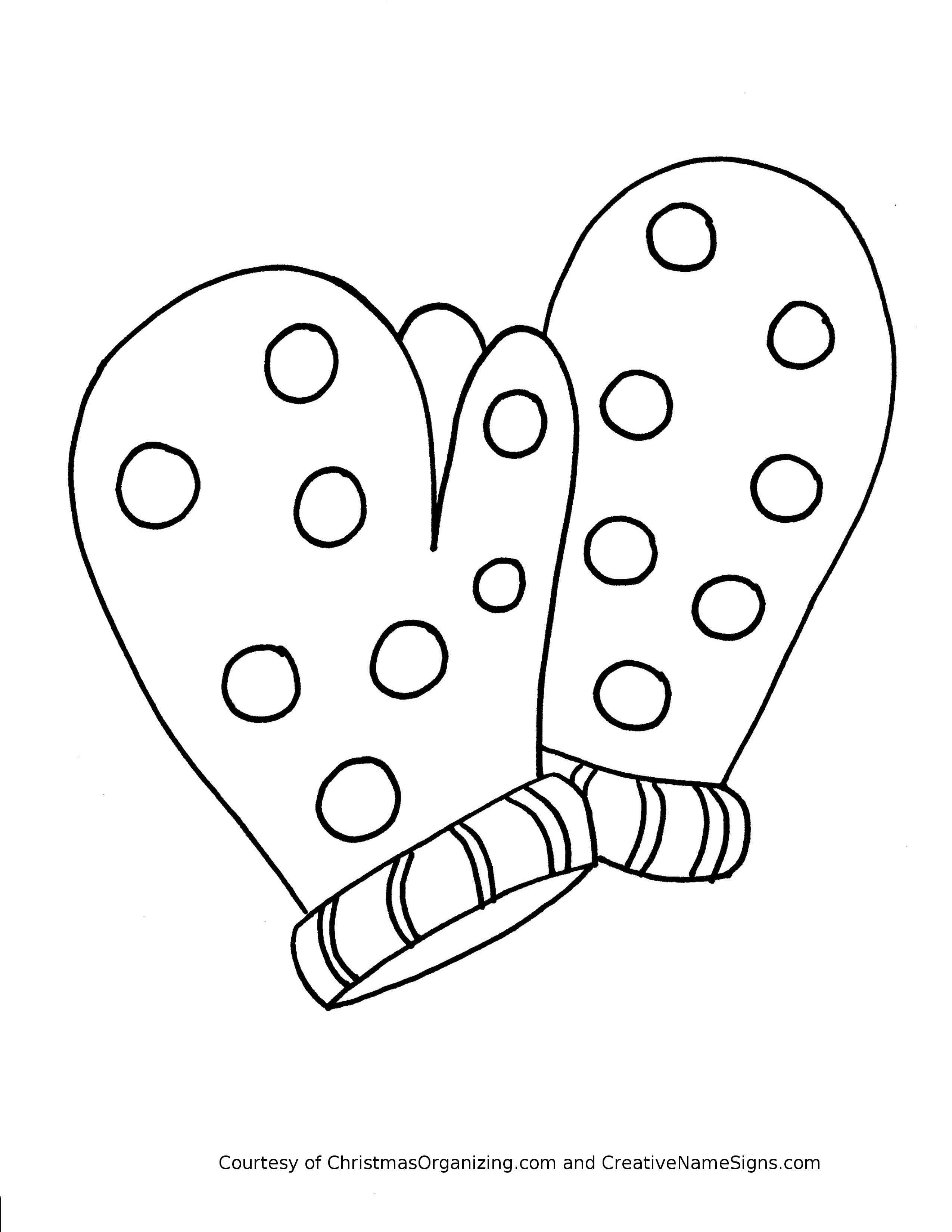 mitten coloring pages mitten drawing at getdrawings free download mitten coloring pages