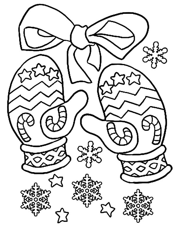 mitten coloring pages mitten outline clipart best coloring pages mitten