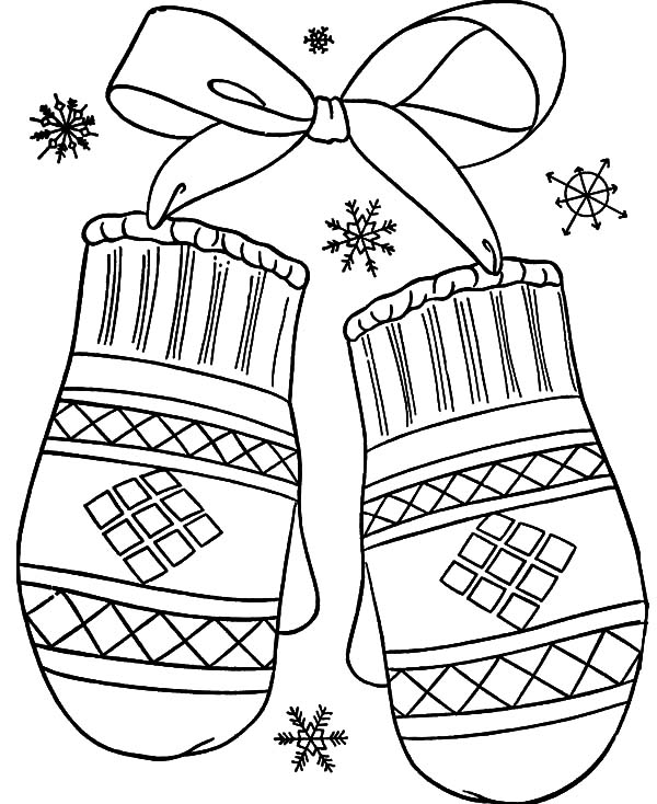 mitten coloring pages mitten outline free download on clipartmag coloring pages mitten