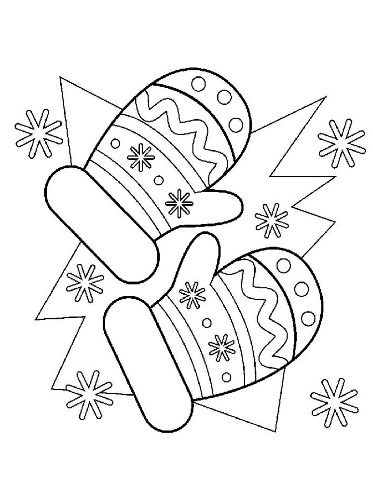 mitten coloring pages mittens coloring pages free printable mittens coloring pages coloring pages mitten 1 2