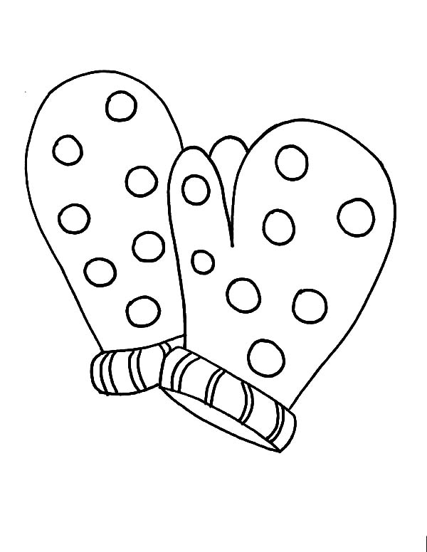 mitten coloring pages mittens gloves coloring pages color luna coloring mitten pages 1 1