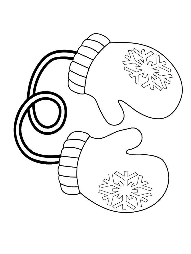 mitten coloring pages three pair of mittens coloring pages color luna pages coloring mitten
