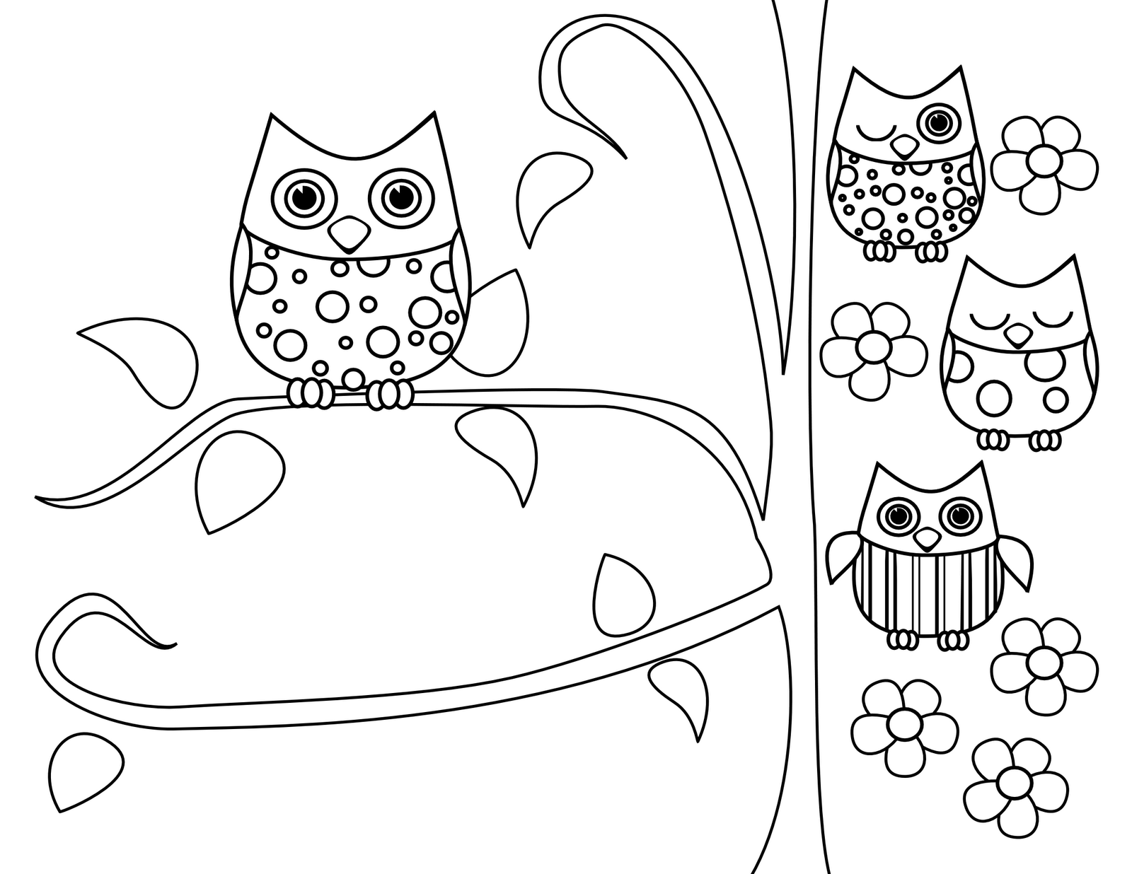 owl print out coloring pages halloween owl coloring pages printable out print owl pages coloring