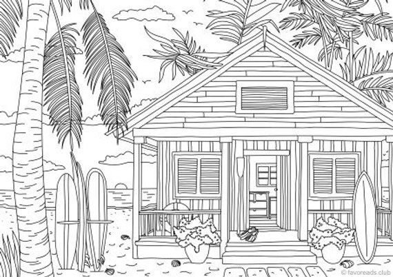 pictures of houses to color ancient house drawing vintage  architecture adult color pictures of houses to