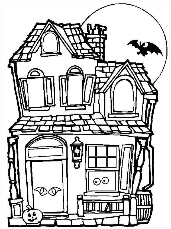 pictures of houses to color beach house  printable adult coloring page from favoreads pictures of to houses color