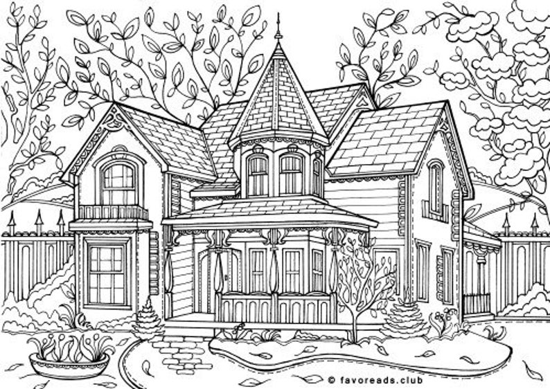 pictures of houses to color birdhouse coloring page coloring home to pictures of houses color