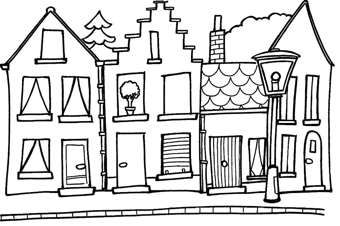 pictures of houses to color free printable haunted house coloring pages for kids of color to pictures houses