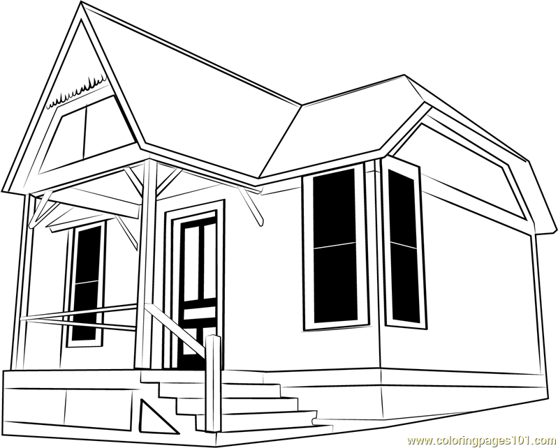 pictures of houses to color free printable house coloring pages for kids houses pictures of color to