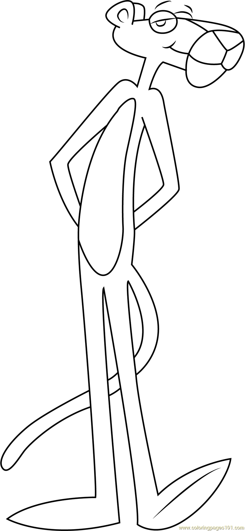 pink panther coloring pages top 10 pink panther coloring pages for your toddler coloring panther pink pages
