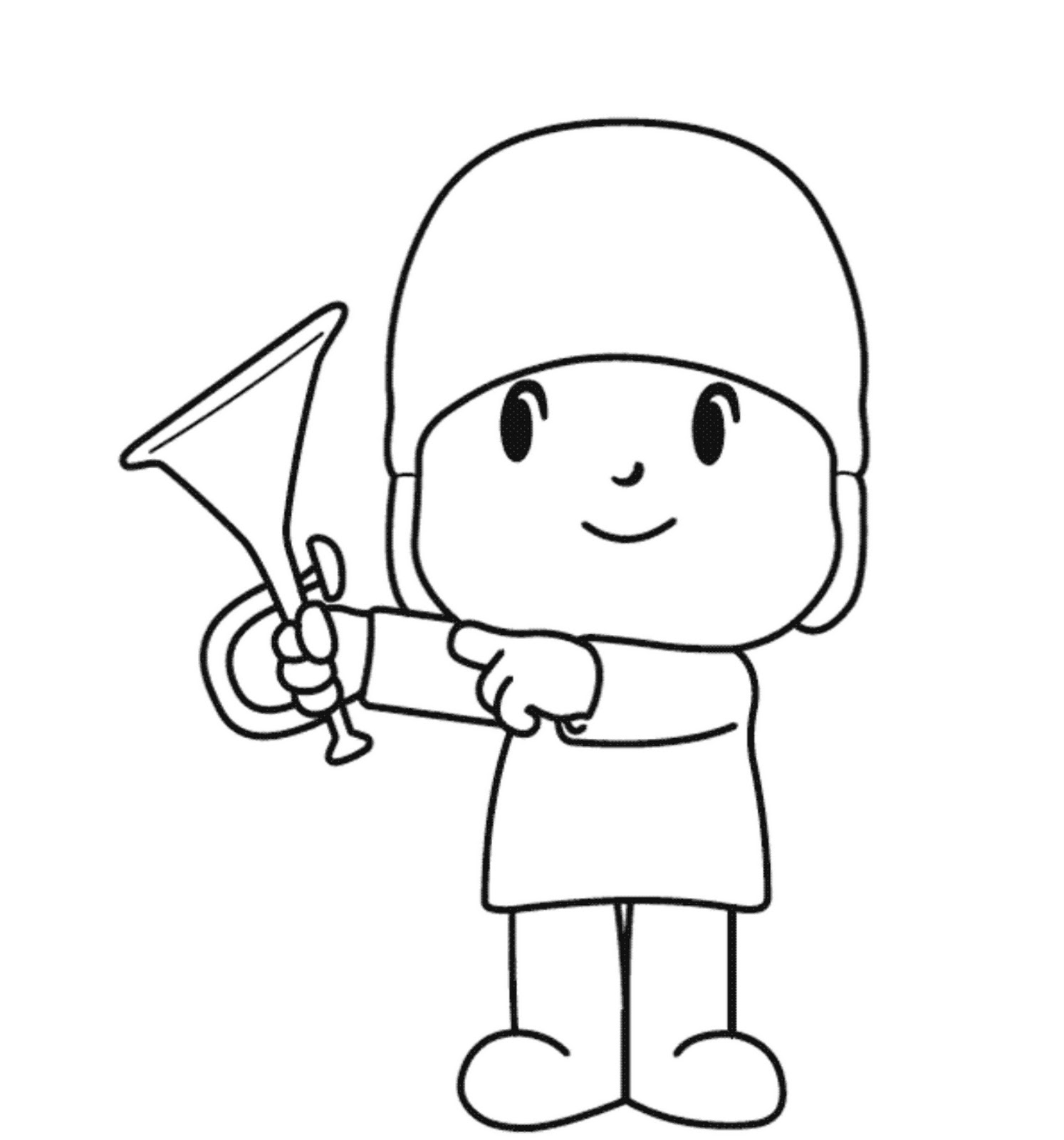 pocoyo printable coloring pages pocoyo coloring page tricot et crochet to color tricot pages coloring printable pocoyo