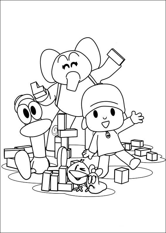 pocoyo printable coloring pages pocoyo coloring pages to download and print for free printable pages coloring pocoyo