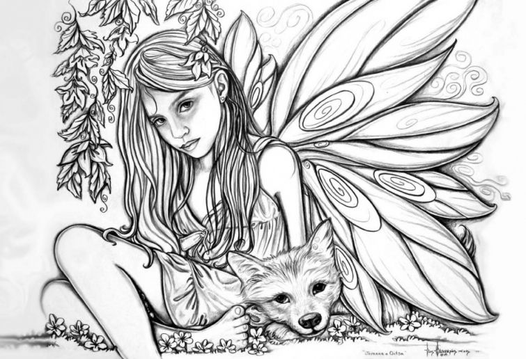 realistic printable fairy coloring pages get this fairy coloring pages free printable 35751 fairy realistic printable pages coloring