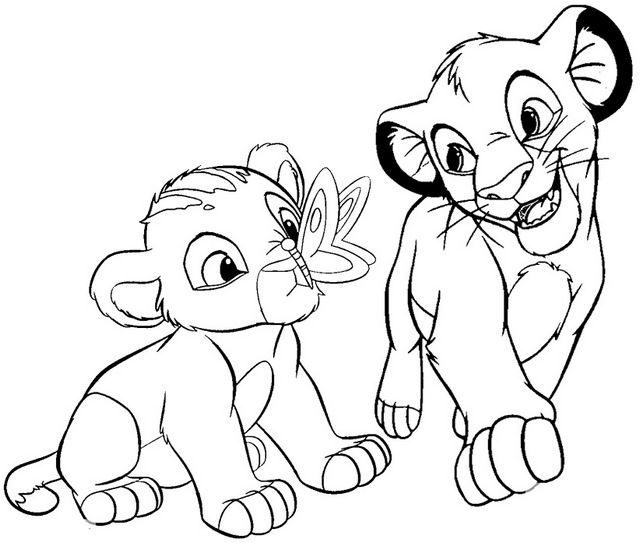 simba and nala coloring pages pin on coloring page sunday school coloring and nala pages simba