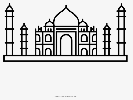 taj mahal outline sketch free download illustrations on behance taj mahal line mahal taj sketch outline